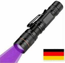 UV Taschenlampe LED Handlampe Schwarzlicht aus Alulegierung, Detektor DHL