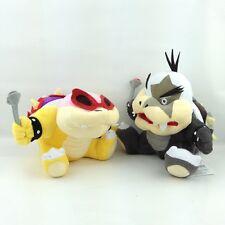 "2X Super Mario Bros Koopalings Roy Morton Koopa Jr. Plush Soft Toy Bowser Kid 7"""