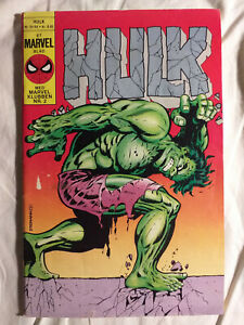 DANISH Steranko Hulk cover edition 5.5 FN- Raw & Rare!