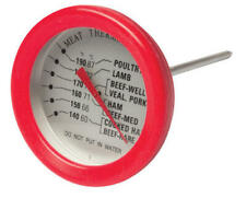 Mechanical Meat Thermometer, Camping, Cooking, BBQ, Pork, Beef, Poultry,