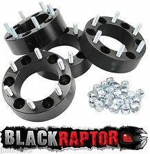 Black Raptor Mazda BT50 B2500 B2600 E2000 E2200 50mm Aluminum Wheel Spacers