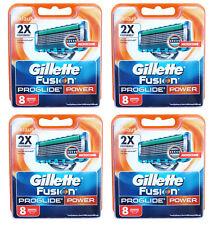 32er Gillette Fusion ProGlide Power 32x Gillete Gilette Gilete razor blades