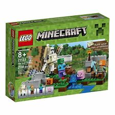 LEGO Minecraft The Iron Golem Building Kit Play Set Toy for Kids Children Build