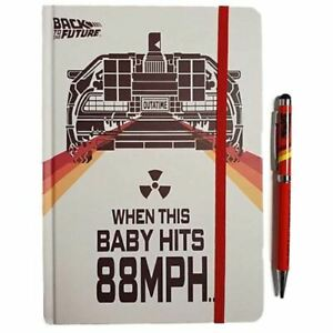 Back to The Future Notebook and Pen