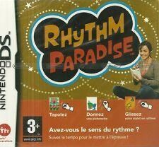 JEU NINTENDO DS : RHYTHM PARADISE ( NEUF EMBALLE ) / EN FRANCAIS