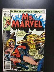 Ms Marvel #17 brief App Mystique HIGH GRADE!