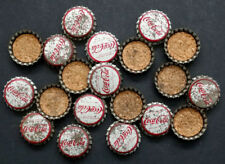 20 Vintage 1960's COCA COLA / Coke UNUSED Cork CROWN TOP 6-ounce BOTTLE CAPS