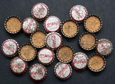 20 Vintage 1960's COCA COLA / Coke UNUSED Cork CROWN TOP 6-ounce BOTTLE CAPS