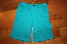 Nwt Gymboree Beach Buddies Size 5T Teal Blue French Terry Knit Shorts