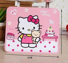 New Cute Lovely Hello Kitty & Teddy Bear Laptop Computer PC Mouse Pad Mat