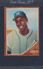 1962 Topps #186 Mack Jones Braves EX *1732