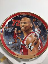 Record 72 wins Chicago Bulls Bradford Exchange Plate