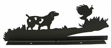 Spaniel & Quail Mailbox Topper Decor Dog