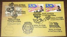 Type 4 9 cancels including Times Square Stamp Week 2013 Malaysia First Day Cover