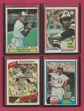 1 Eddie Murray Card Baltimore Orioles 1978 Topps Rookie # 36 Ex Near Mint