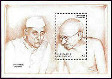 Grenada Gr. MNH MS, Mahatma Gandhi of India, PM Jawaharlal Nehru @