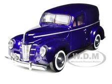 1940 FORD SEDAN DELIVERY PURPLE 1/24 DIECAST MODEL CAR BY MOTORMAX 73250