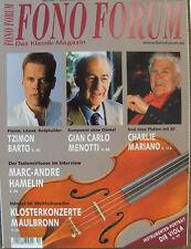 Fono Forum 4/07 Bose Lifestyle 28, Harman Kardon HS 200, Terratec iVinyl, Barto