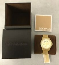Michael Kors MK5039 Ritz Horn Jet Set Champagne Chrono Chronograph Watch