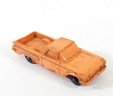 Vintage Tomte Laerdal No 14 Chevrolet Rubber Toy Car Norway F686