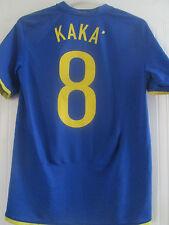 Brasil 2008-2009 lejos Kaka 8 Camiseta de fútbol Tamaño Mediano/40640