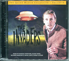 Quinn-Martin Collection Volume 2 THE INVADERS 2xCD Limited Edition SOUNDTRACK CD
