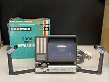 Vintage HANIMEX E300 DUAL 8 Movie Editor / No Power Untested Further