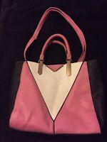Womens Pink/White/Black Beautiful Handbag(P4)