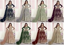 Kameez Anarkali Salwar Suit Indian Pakistani Designer Dress Party Wear New FM