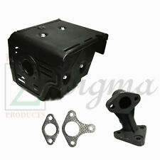 Muffler Exhaust For Easy-Kleen 4000PSI Honda GX390 Hot Water Pressure Washer