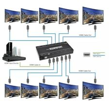 SIIG 4K 1x10 HDMI Splitter 3D & 4Kx2K PC Res 1080p HDMI CE-H21Q11-S1 $279.99 NEW