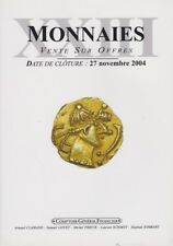 MONNAIES XXIII VENTES SUR OFFRES DE CLAIRAND, GOUET, PRIEUR, SCHMITT, SOMBART