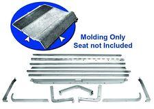 Mustang Moldings Folddown Seat 1965 1966 1967 1968 - Dynacorn
