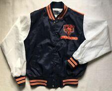 Chalk Line Chicago Bears NEW Junior Sz 18 20 Rare Vintage Jacket White Blue Kids