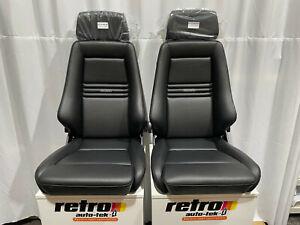 "Genuine Recaro Seats Specialist M ""Ambla Leather"" Brand New (Pair)"