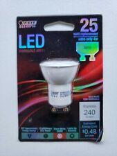 FEIT ELECTRIC LED DIMMABLE MR11 GU10 25 WATT REPLACEMENT BULB 4W 240 LUMEN (G)