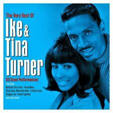 IKE & TINA TURNER - THE VERY BEST OF - 60 GREAT PERFORMANCES (NEW SEALED 3CD)
