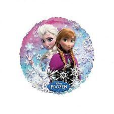 "Disney's Frozen 18""  Elsa & Anna Mylar Balloon Party Supplies New"