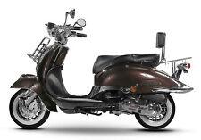 Retro Roller Mofa 25 45 KmH Motorroller 50 49 ccm braun EASYCRUISER BASIC NEU