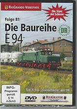 """DVD  Die Baureihe E 94 - Teil 3: Das """"Eisenschwein"""" der DR"""
