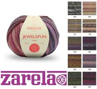 Sirdar Jewelspun Aran 200g ***ALL SHADES***