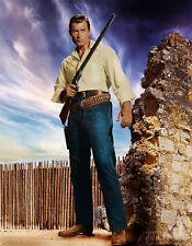 Clint Walker - Fort Dobbs (1958) -  8 1/2 X 11 - Metek Artwork (2017)