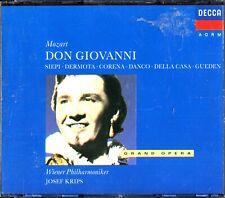 Mozart: Don Giovanni, Wiener Philharmoniker 3-CD -Josef Krips (Cesare Siepi)