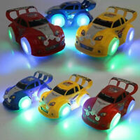 LED Elektronik Beleuchtetes Auto Magic Track Spielzeug Kinder Beleuchtetes Auto