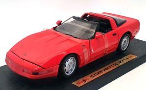 Maisto 1/18 Scale MA4621Y - 1992 Chevrolet Corvette ZR-1 - Red