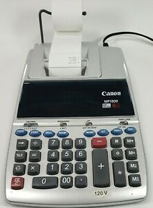 Canon MP18DII Professional Desktop Electronic Printing Calculator Adding Machine