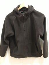 Gondwana Thick Fleece Hooded Zip Front Jacket, Size M