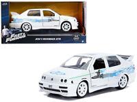 Fast & Furious Jesse Volkswagen VW Jetta Diecast Car 1:32 Jada 5 inch White