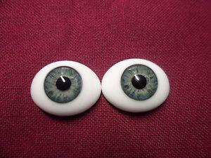 18 MM CC04 Green Grey  Glass Pabol  Doll EyesFAST SHIPPING TO USA