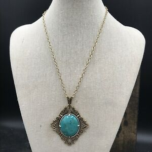 Barse Aspire Necklace-Turquoise-Mixed Metals- NWT